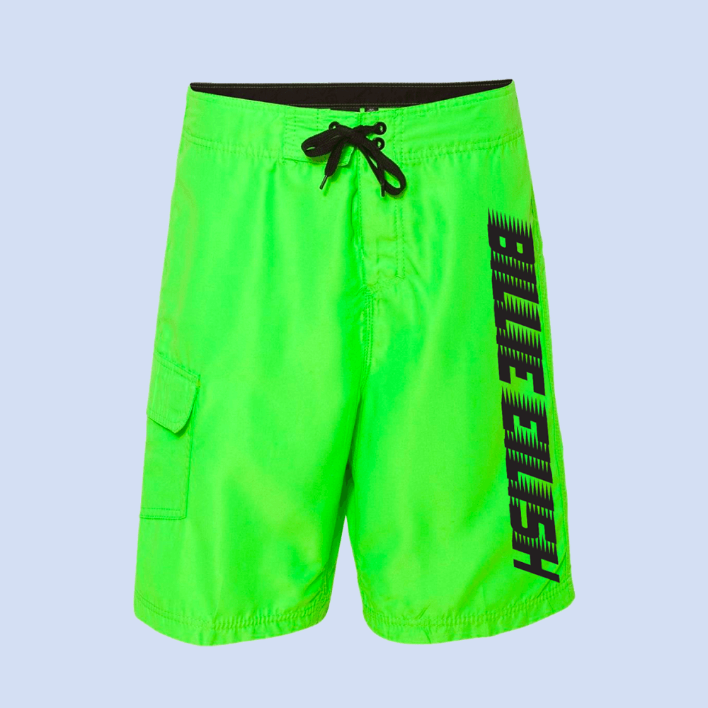 Billie Eilish Green Racer Billie Eilish Swim Shorts