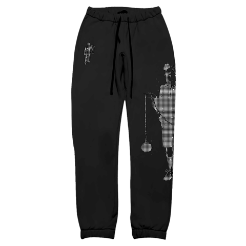 √Limited Leave Me Alone Rhinestone von Billie Eilish - Sweatpants jetzt im Billie Eilish Shop