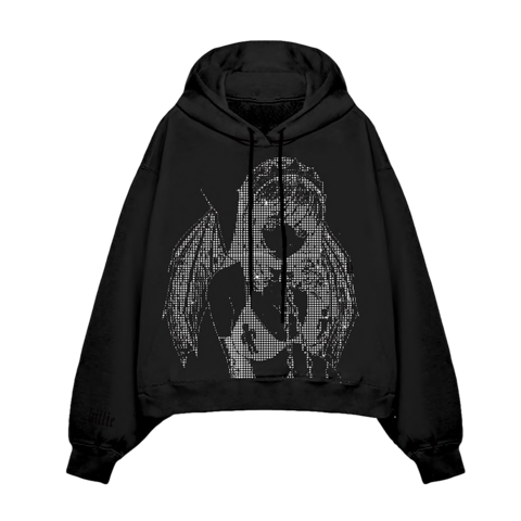 √Limited Leave Me Alone Rhinestone von Billie Eilish - Hoodie jetzt im Billie Eilish Shop