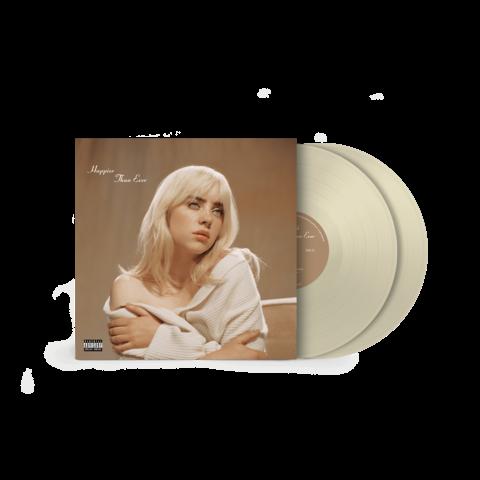 'Happier Than Ever' Exclusive Pale Yellow Vinyl von Billie Eilish - 2LP jetzt im Billie Eilish Shop