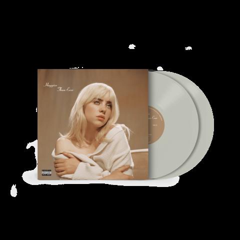 'Happier Than Ever' Exclusive Cool Grey Vinyl von Billie Eilish - 2LP jetzt im Billie Eilish Shop