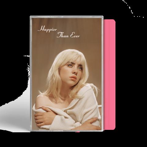 'Happier Than Ever' Exclusive Pink Cassette von Billie Eilish - MC jetzt im Billie Eilish Shop