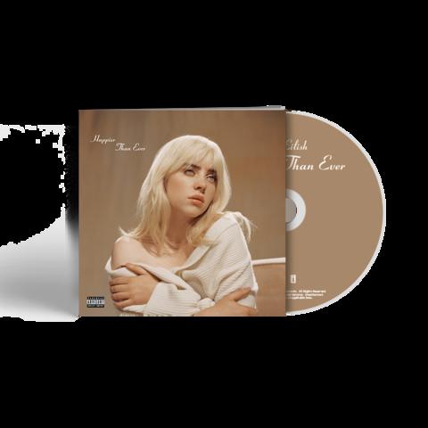 'Happier Than Ever' CD Photobook von Billie Eilish - Deluxe CD jetzt im Billie Eilish Shop