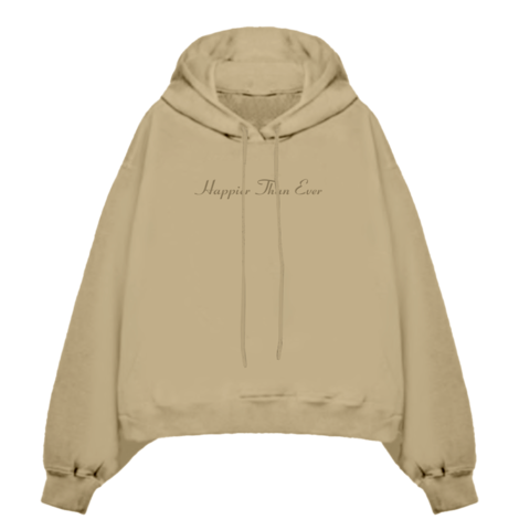 √Happier Than Ever von Billie Eilish - Hooded Sweatshirt jetzt im Billie Eilish Shop