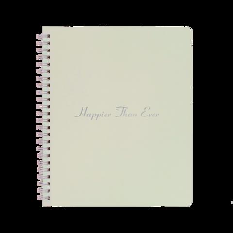 HAPPIER THAN EVER von Billie Eilish - Notebook jetzt im Billie Eilish Store