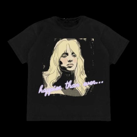 Isolation von Billie Eilish - T-Shirt jetzt im Billie Eilish Store
