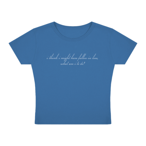 """""""I Think I Might Have Fallen In Love"""" Baby by Billie Eilish - t-shirt - shop now at Billie Eilish store"""