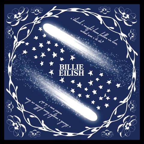 Halley's Comet von Billie Eilish - Bandana jetzt im Billie Eilish Store
