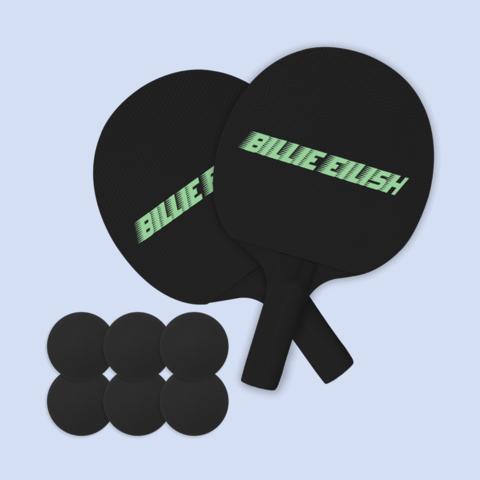 Billie Eilish von Billie Eilish - Ping Pong - Set jetzt im Billie Eilish Shop