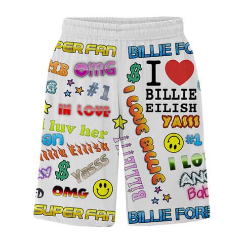 √Billie Eilish x FreakCity Super Fan von Billie Eilish - Shorts jetzt im Billie Eilish Shop