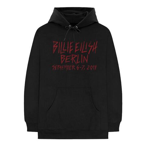 √Berlin 2019 von Billie Eilish - Hood sweater jetzt im Billie Eilish Shop