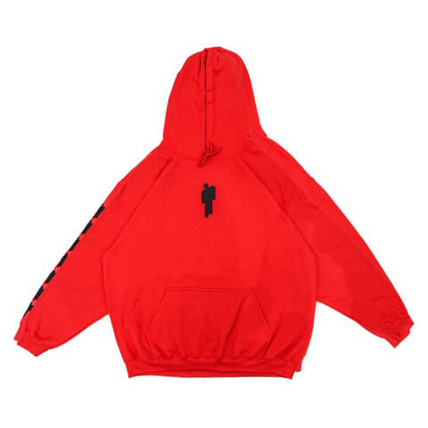 √Red Billie Hoodie von Billie Eilish - Hood sweater jetzt im Billie Eilish Shop