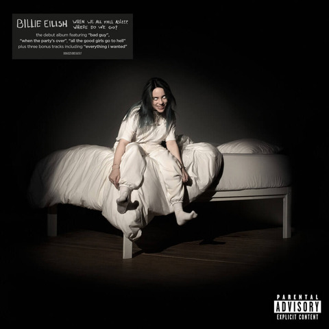 √WHEN WE ALL FALL ASLEEP, WHERE DO WE GO? (Re-Pack) von Billie Eilish - CD jetzt im Billie Eilish Shop