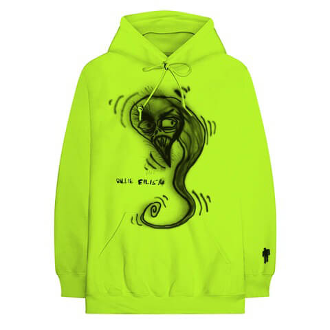 √Spray Paint Ghoul von Billie Eilish - Hood sweater jetzt im Billie Eilish Shop