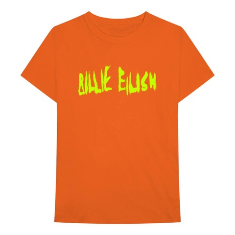 √Spray Paint Logo von Billie Eilish - T-Shirt jetzt im Billie Eilish Shop