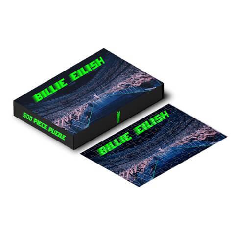 √Billie Eilish Puzzle (500 Teile) von Billie Eilish - Puzzle (500 Teile) jetzt im Billie Eilish Shop
