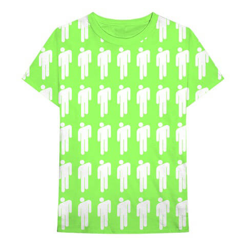√Blohsh Pattern von Billie Eilish - Unisex Shirt jetzt im Billie Eilish Shop
