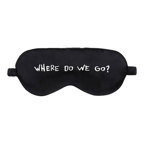 √Where Do We Go von Billie Eilish - Schlafmaske jetzt im Billie Eilish Shop